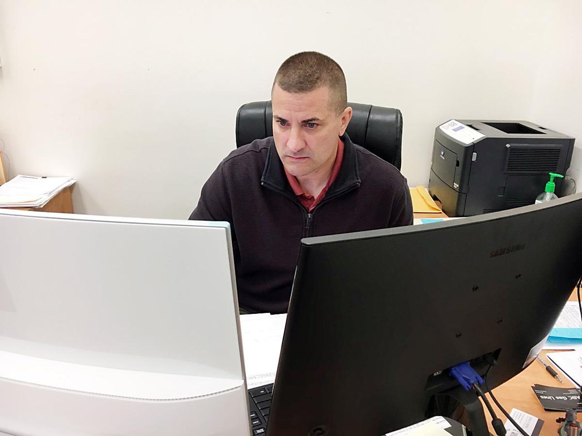 Fayette County Veterans Affairs Director Brian Bensen