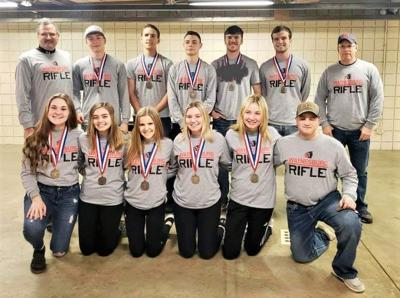 Raiders finish fourth in WPIAL rifle finals