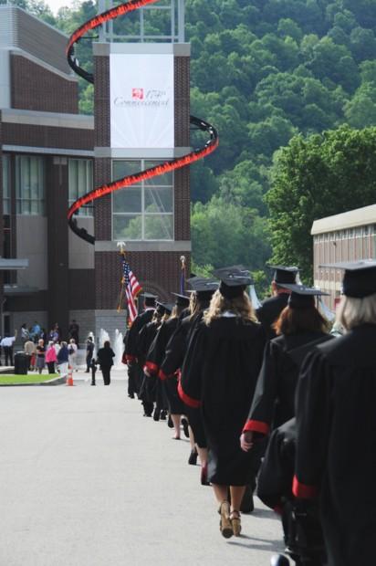 Cal U graduates class of 2012