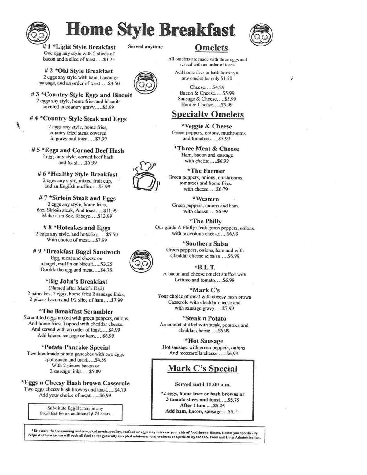 Mark C's Diner | Restaurants/food & Dining | Uniontown, PA