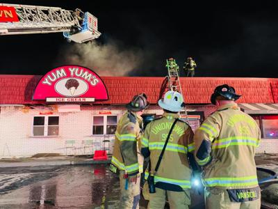 Yum Yum's Bagel Cafe bakery damaged in fire