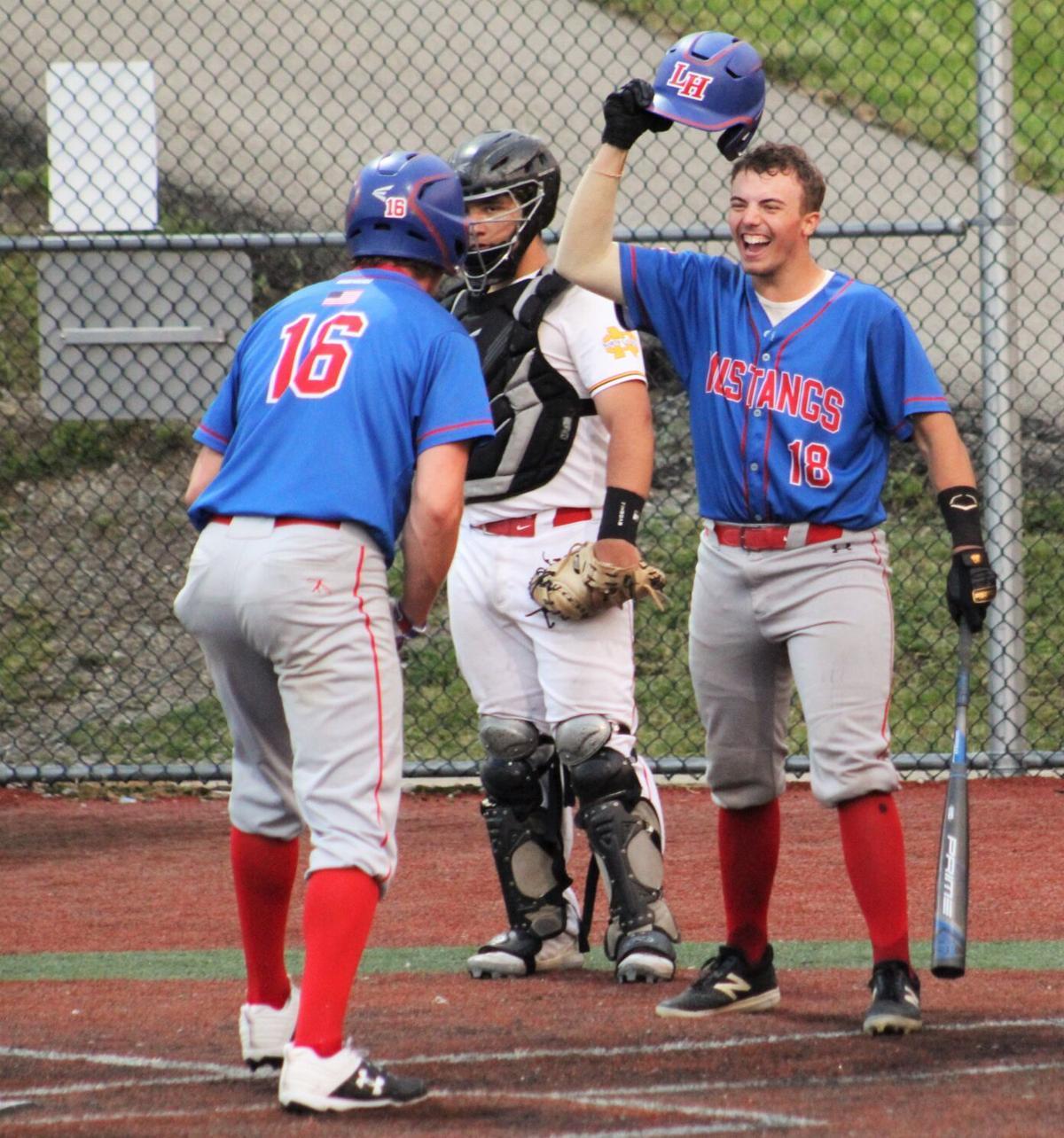 McClain congratulates Kumor after home run