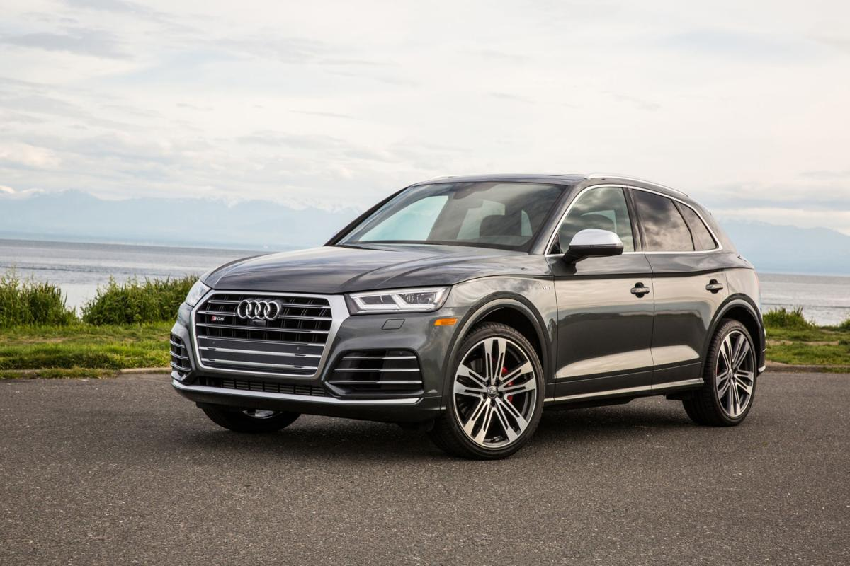 A Blue Sky Audi SUV With A Price Way Up Yonder Business - Audi suv price