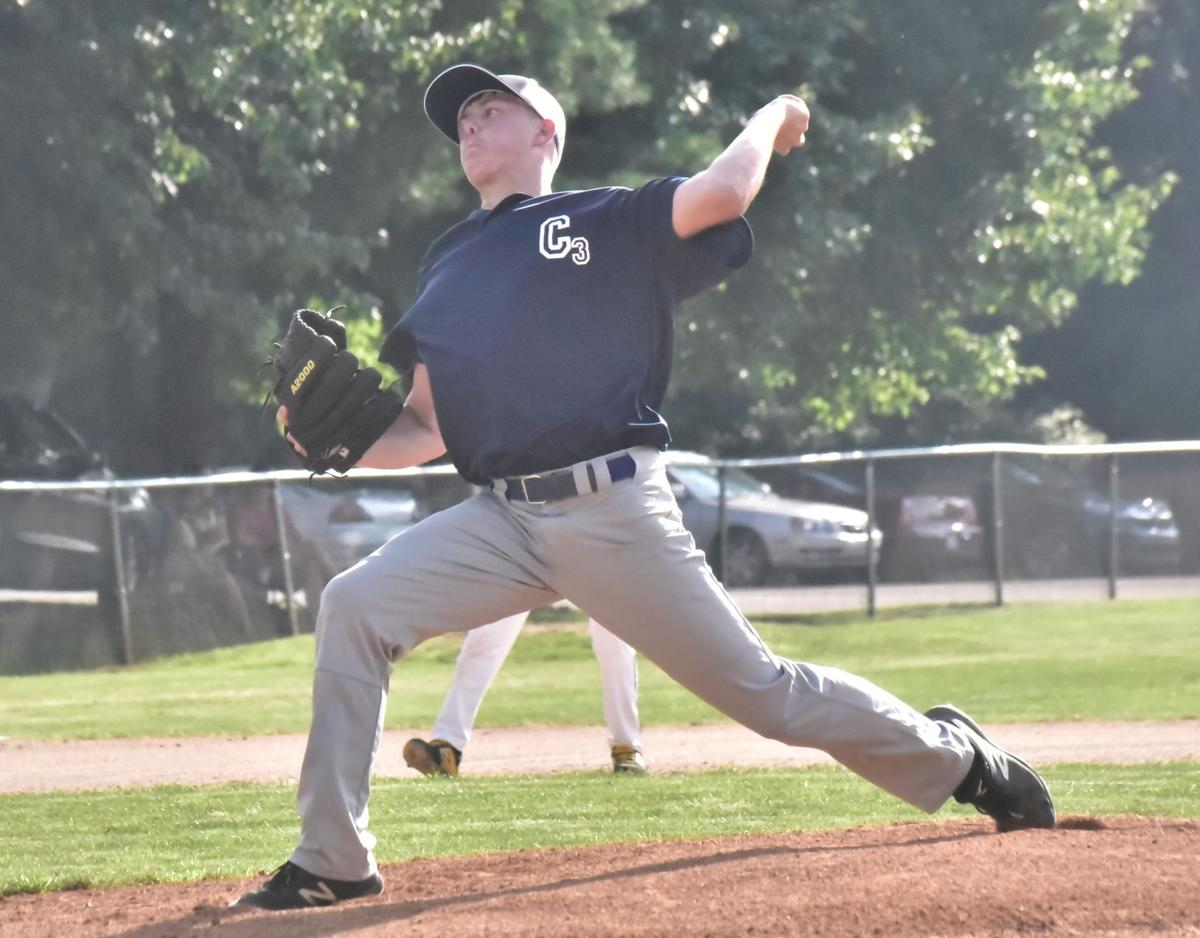 Hayes delivers a pitch for Colonial 3