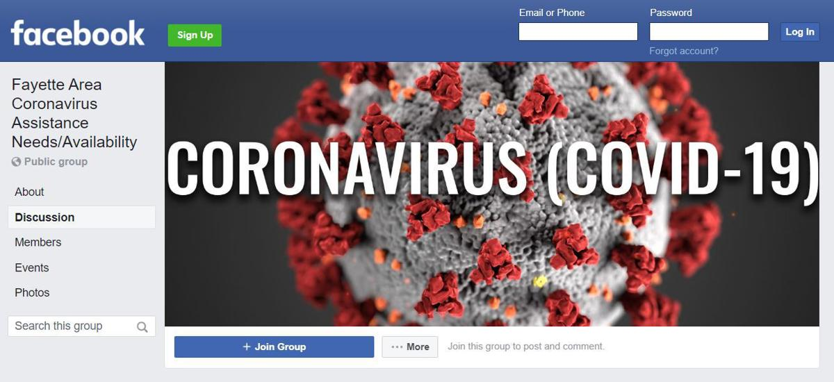 Area residents create community Facebook pages in response to coronavirus