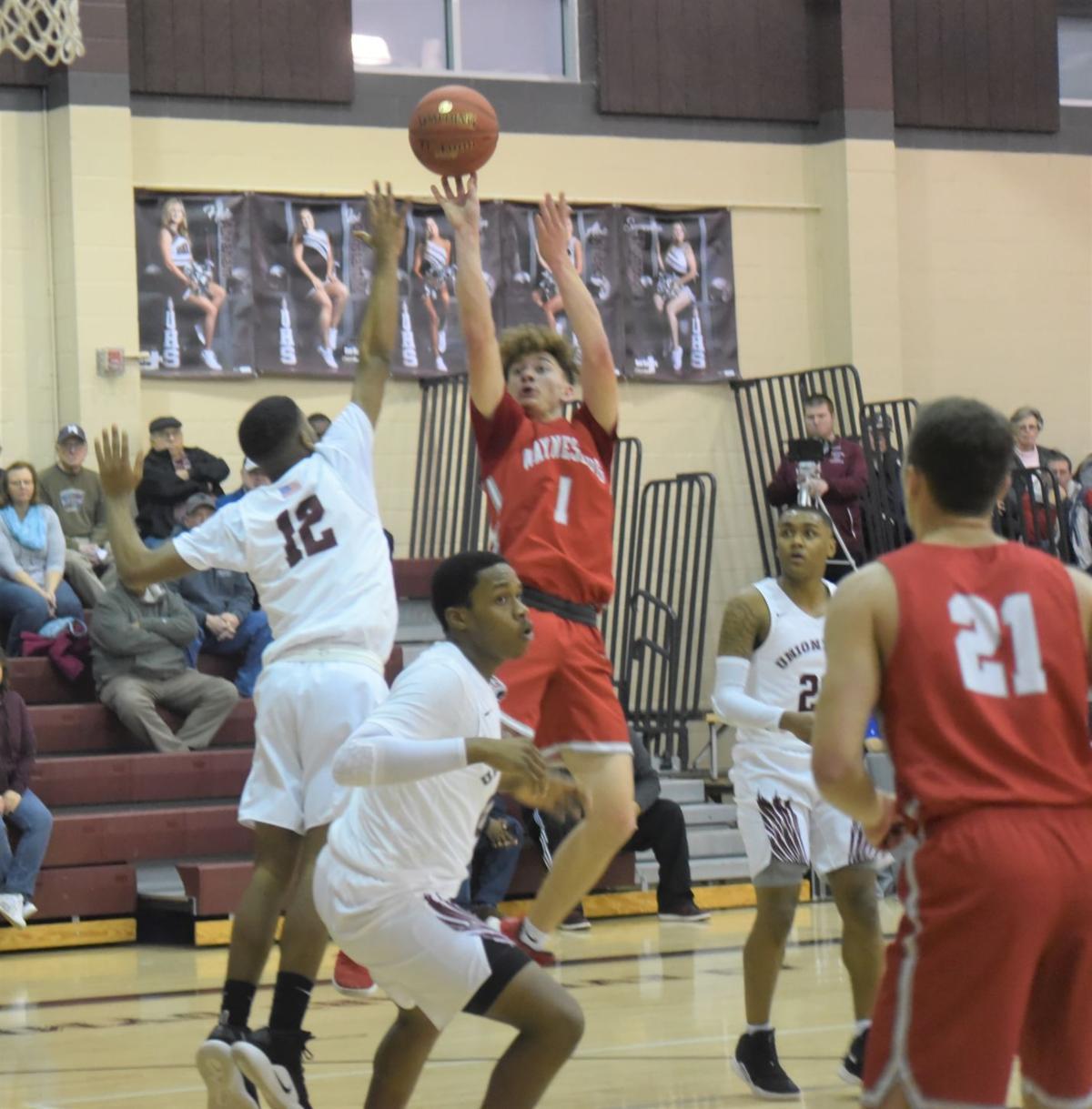 Garber puts up shot