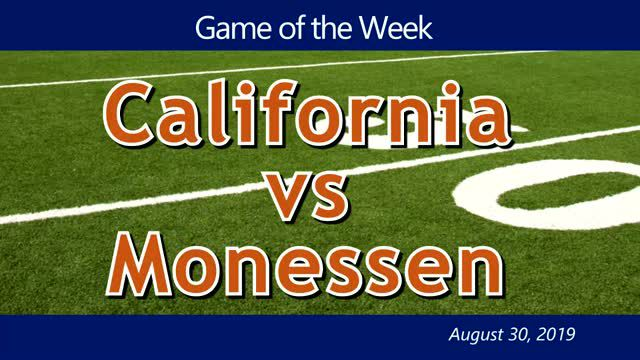 VIDEO: GAME OF THE WEEK — California at Monessen