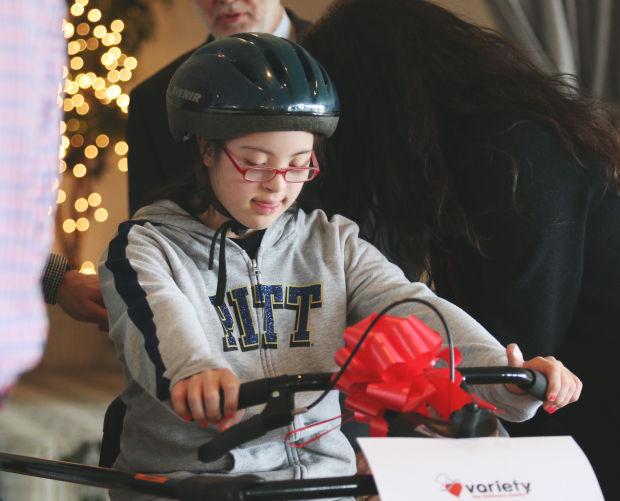 Variety presents adaptive bike