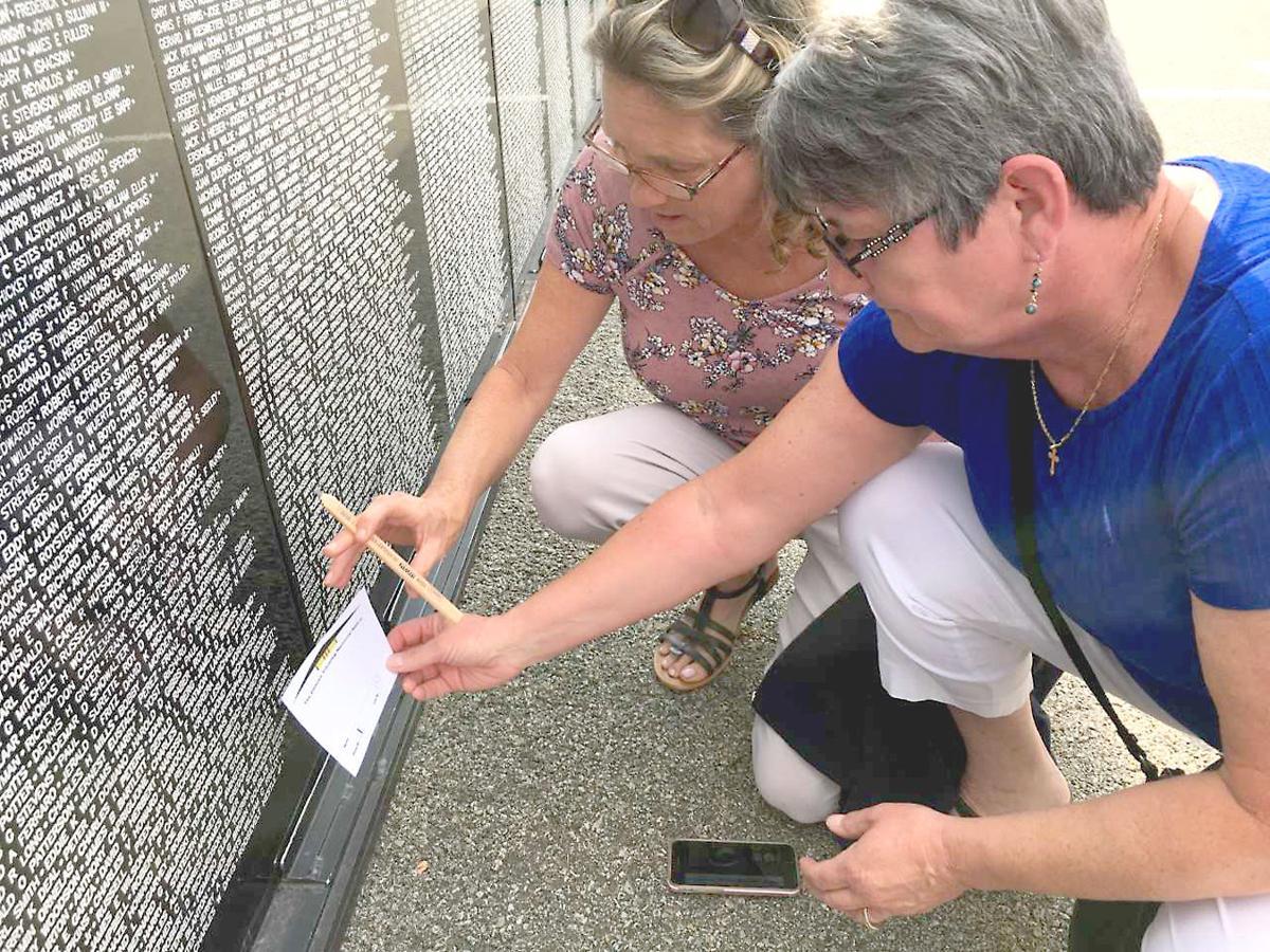 Area residents make pilgrimage to Vietnam Traveling Memorial in