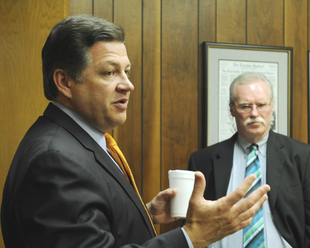 A talk with Rep. Shuster