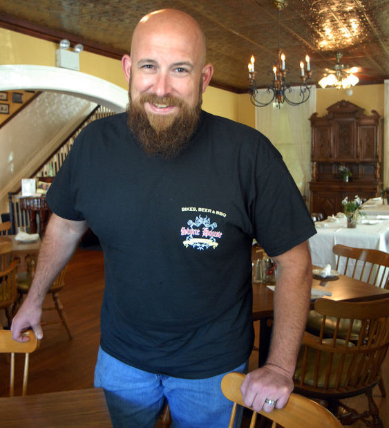 Chef Jeremy Critchfield of Stone House Restaurant & Inn