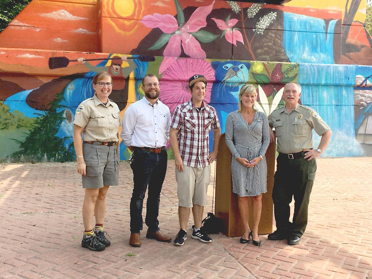 New mural for Ohiopyle