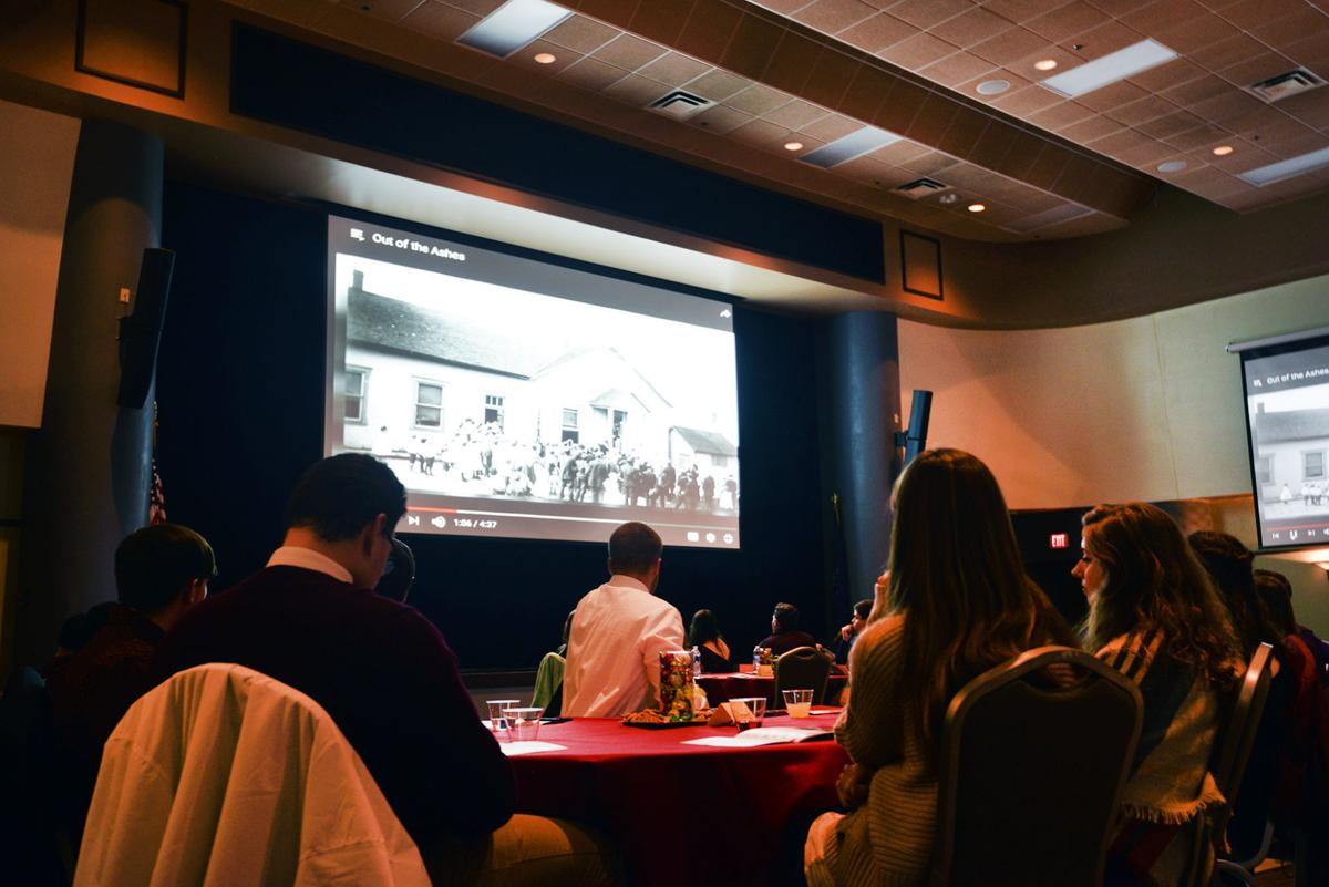 Cal U honors students premier digital stories on regional historic sites