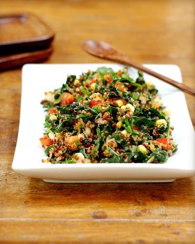 Quinoa and Kale Tabbouleh