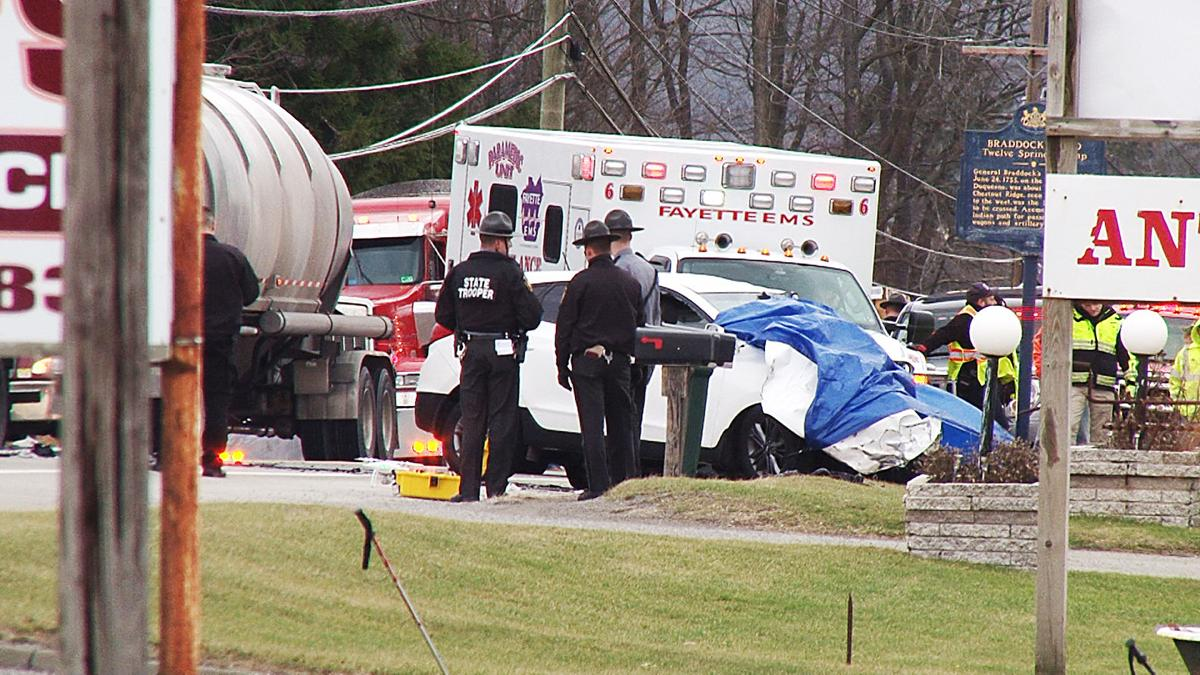 Route 40 accident