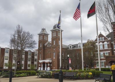Old Main at California University of Pennsylvania