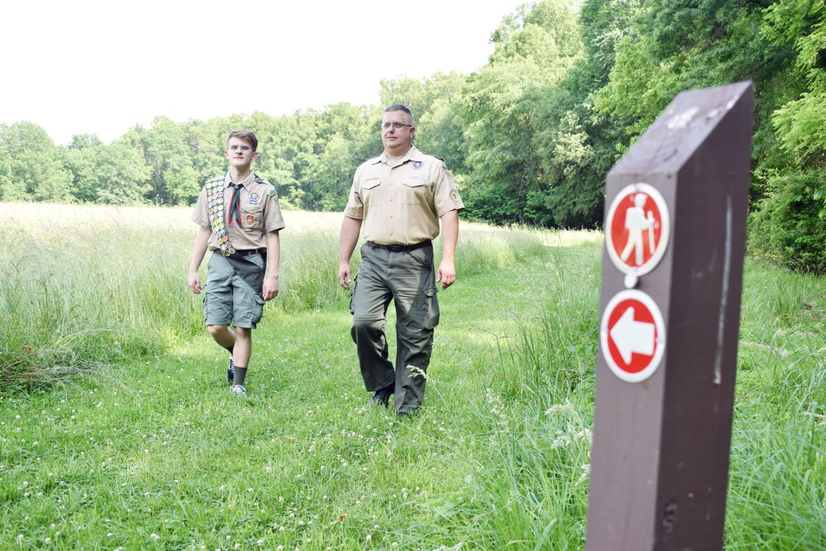 Masontown boy earns Eagle Scout, improves Friendship Hill trail markers