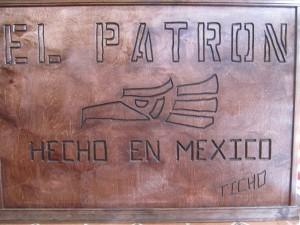 El Patron Sign