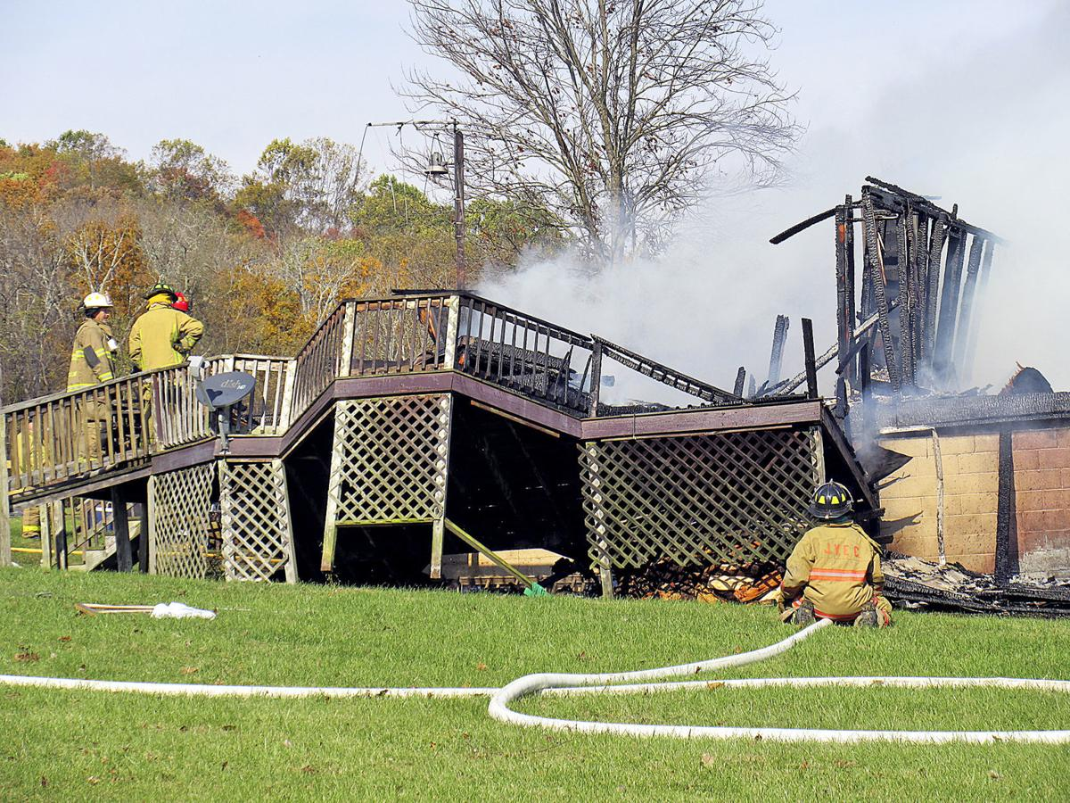 Explosion destroys Greene County home