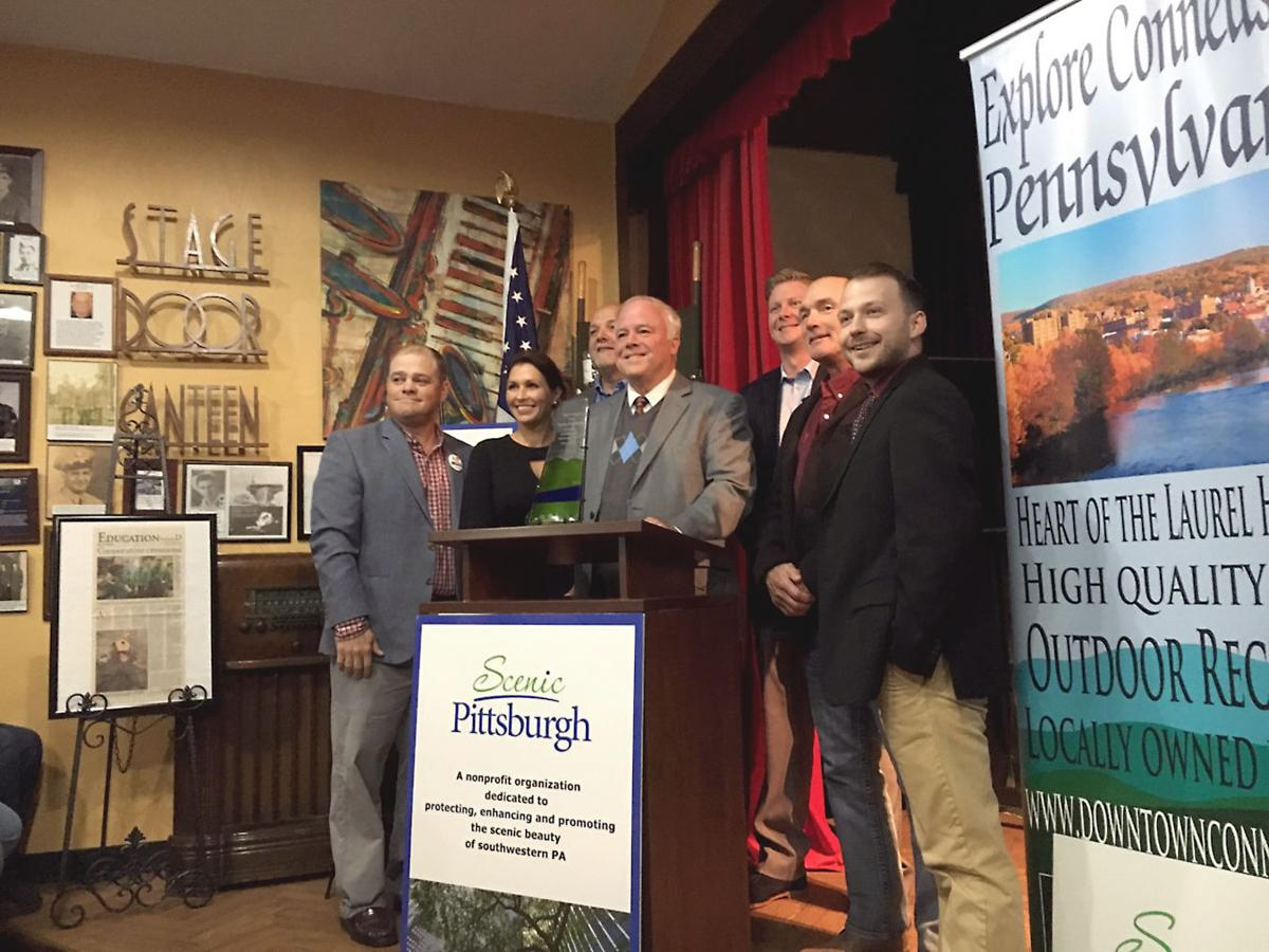 Connellsville receives Community Scenic Achievement Award