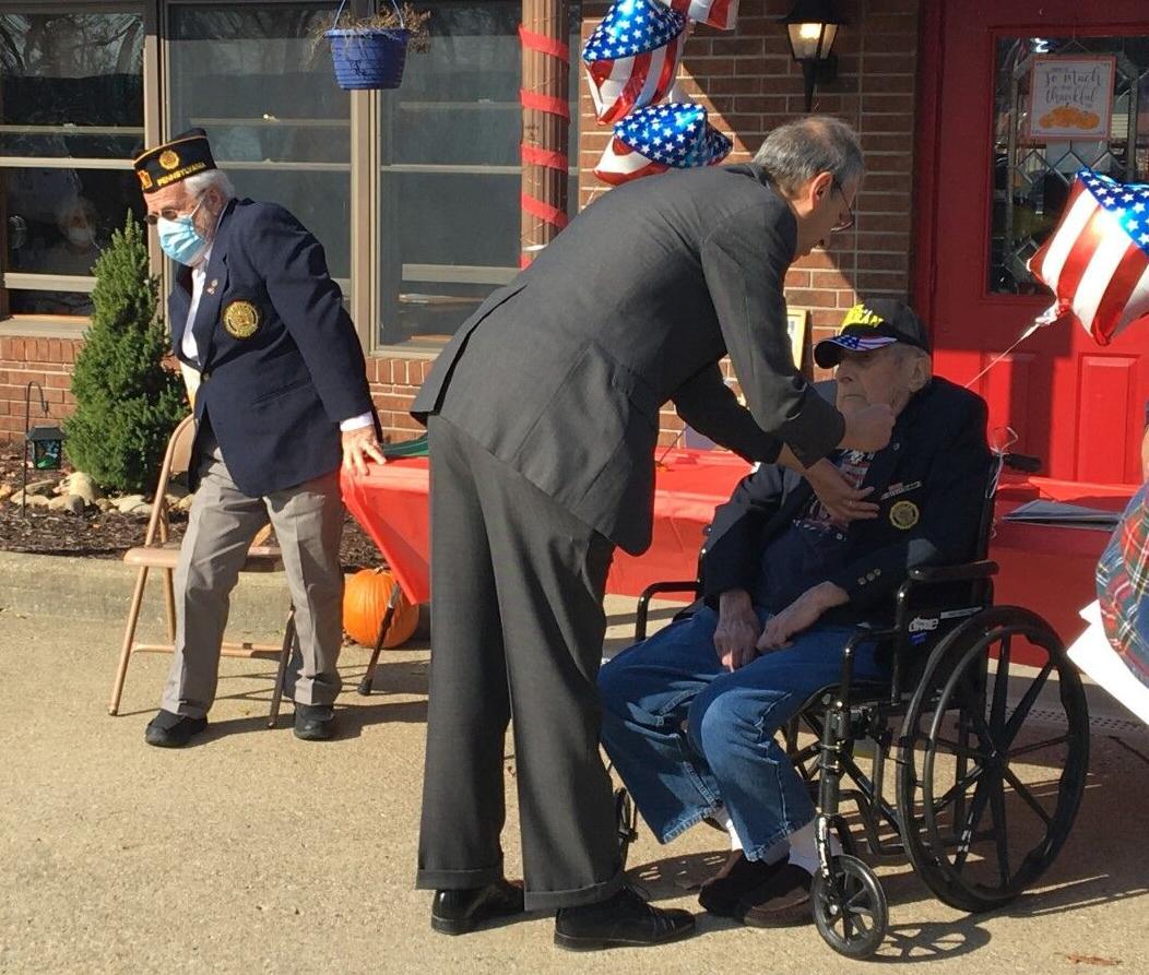 Veteran honored