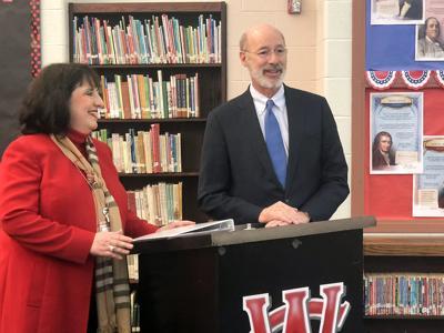 Central Greene superintendent welcomes Gof. Wolf