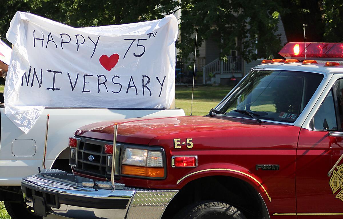 City celebrates Connellsville couple's 75th wedding anniversary