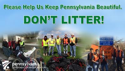 PennDOT announces partnership in litter cleanup, prevention initiative