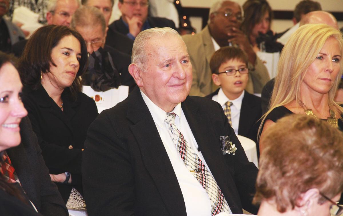 Gladys honored at banquet