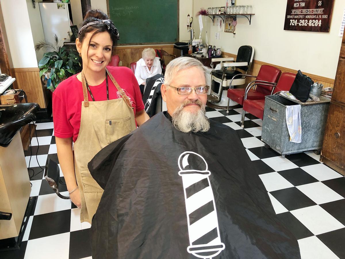Monongahela mayor shaves beard to raise money, awareness for Alzheimer's disease