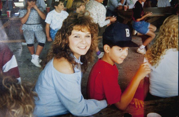 Lori Lynn Caric and her son, Brian Metheny