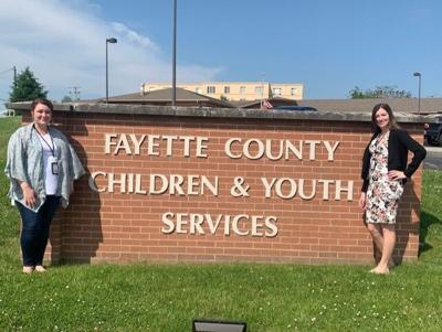 Fayette CYS caseworkers recognized
