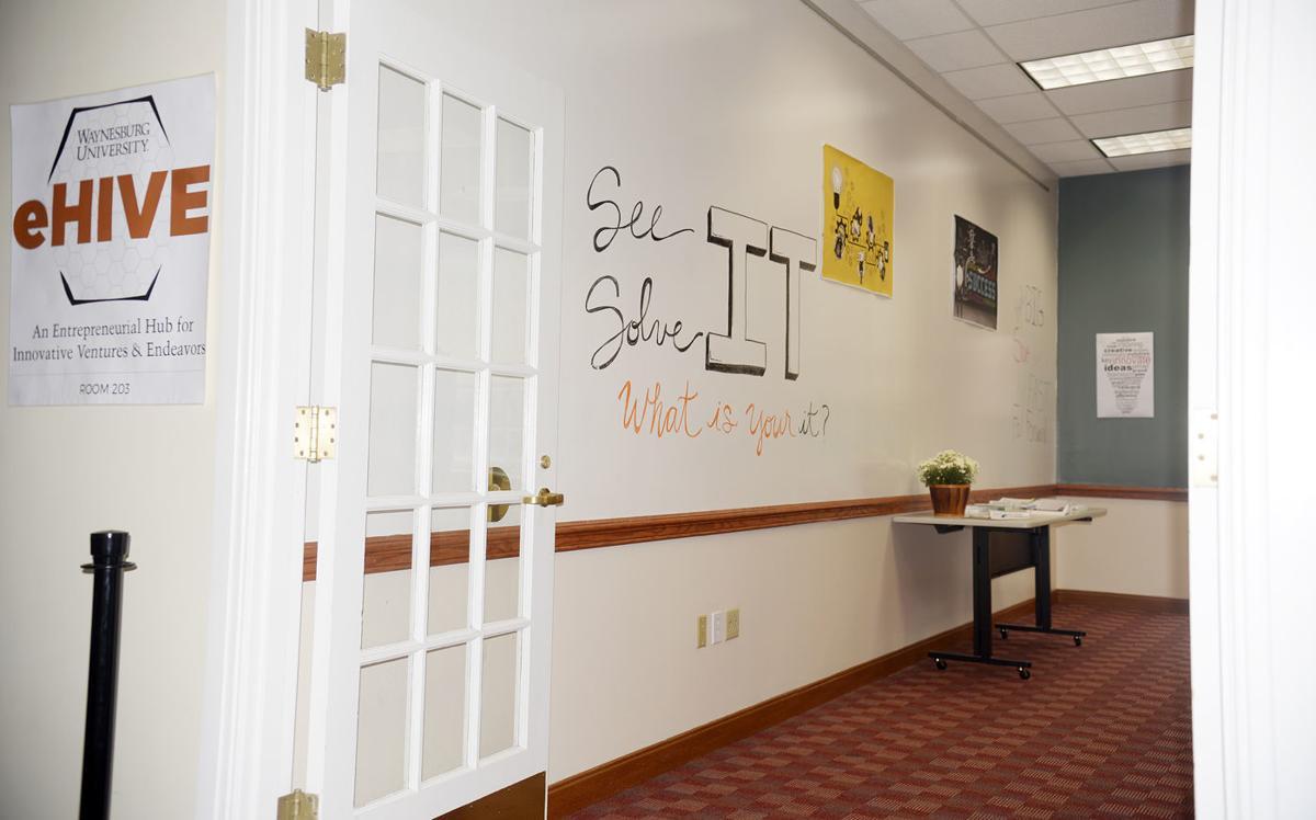 Waynesburg University unveiled eHIVE