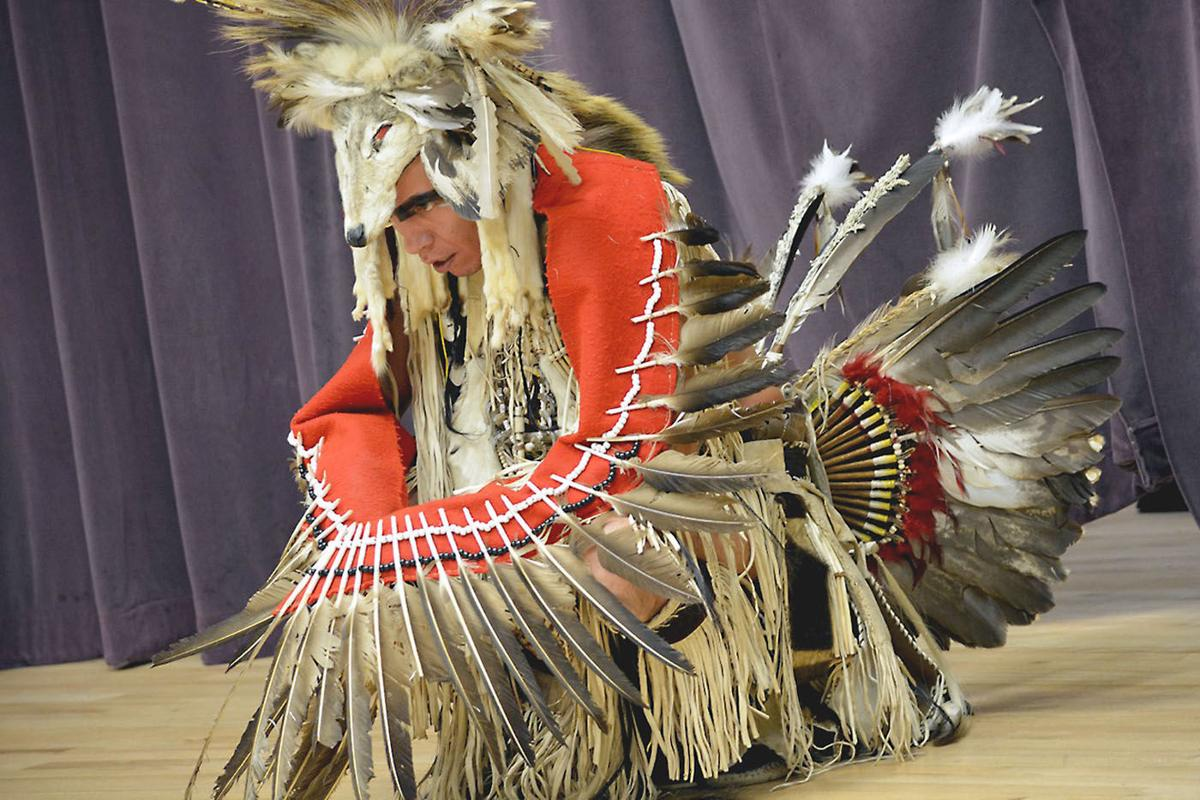 Penn State Fayette hosts cultural program with Piscataway Indian Nation Dancers