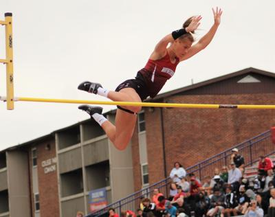 Shriver clears the opening height