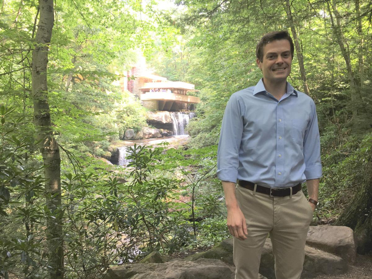 Justin Gunther thrilled with Fallingwater becoming World Heritage site