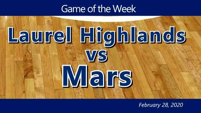 VIDEO: GAME OF THE WEEK —  Laurel Highlands vs Mars - WPIAL Class 5A Championship