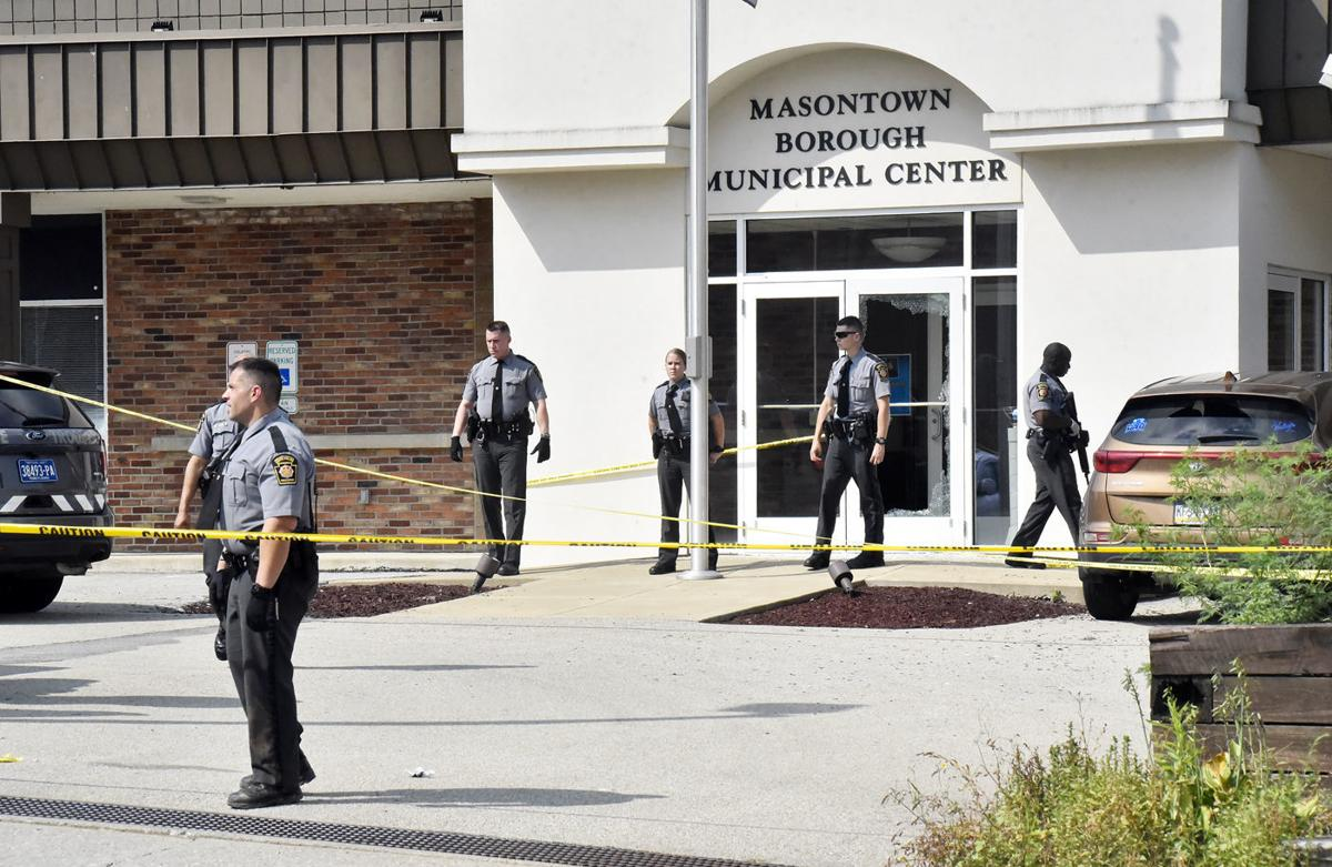 Shooting at Masontown magistrate's office