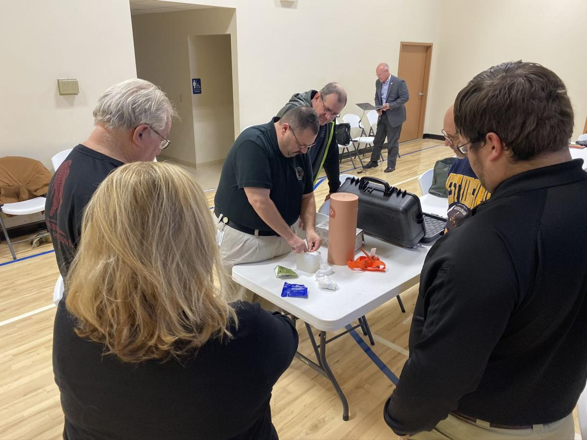 Church leaders learn how to 'Stop the Bleed'