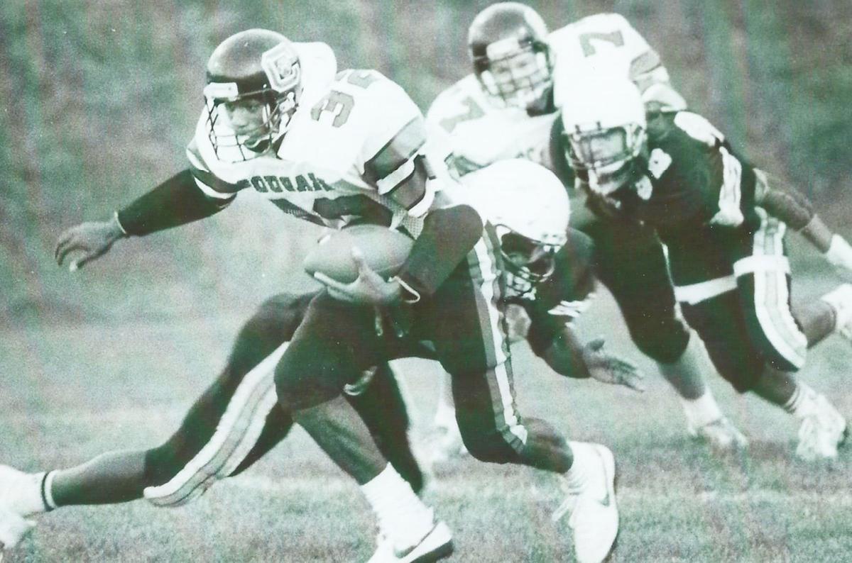 Harding during his playing days at Cincinnati