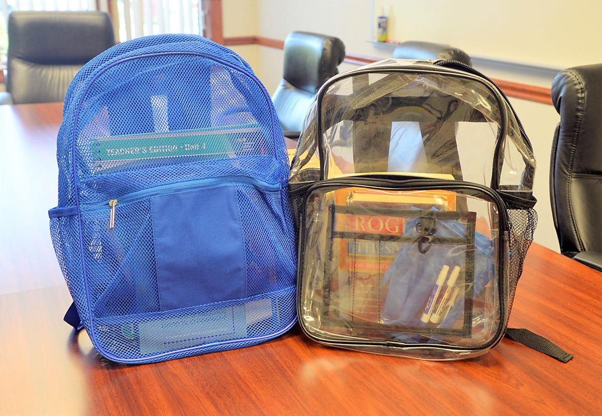 Local school officials pushing for transparency with book bags