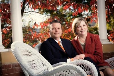University president and wife honored through establishment of endowed award
