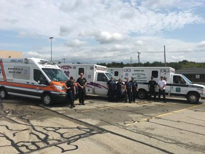 Fayette EMS sends vehicles, crew south to aid Hurricane