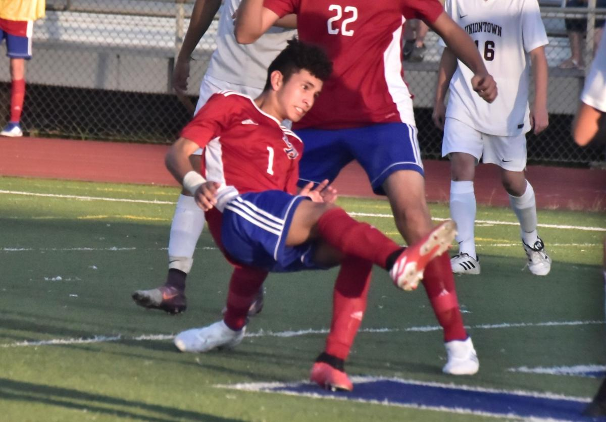 Olivares scores first of two goals