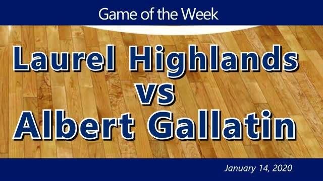 VIDEO: GAME OF THE WEEK — Laurel Highlands vs Albert Gallatin