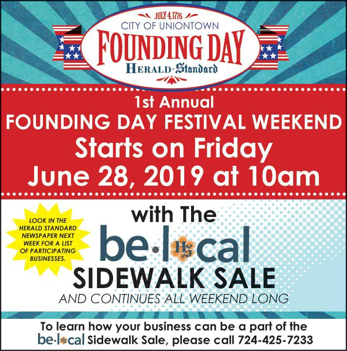 City of Uniontown ~ 1st Annual Founding Day Festival | Event