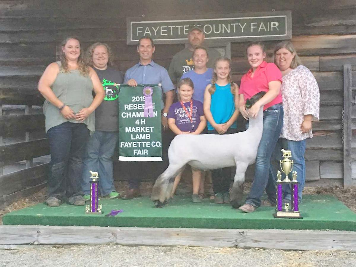 Fayette County Fair 4-H Market Lambs