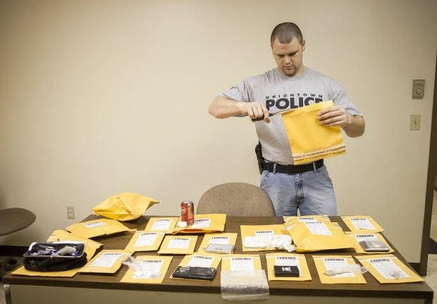 Cataloging Drug Bust Evidence