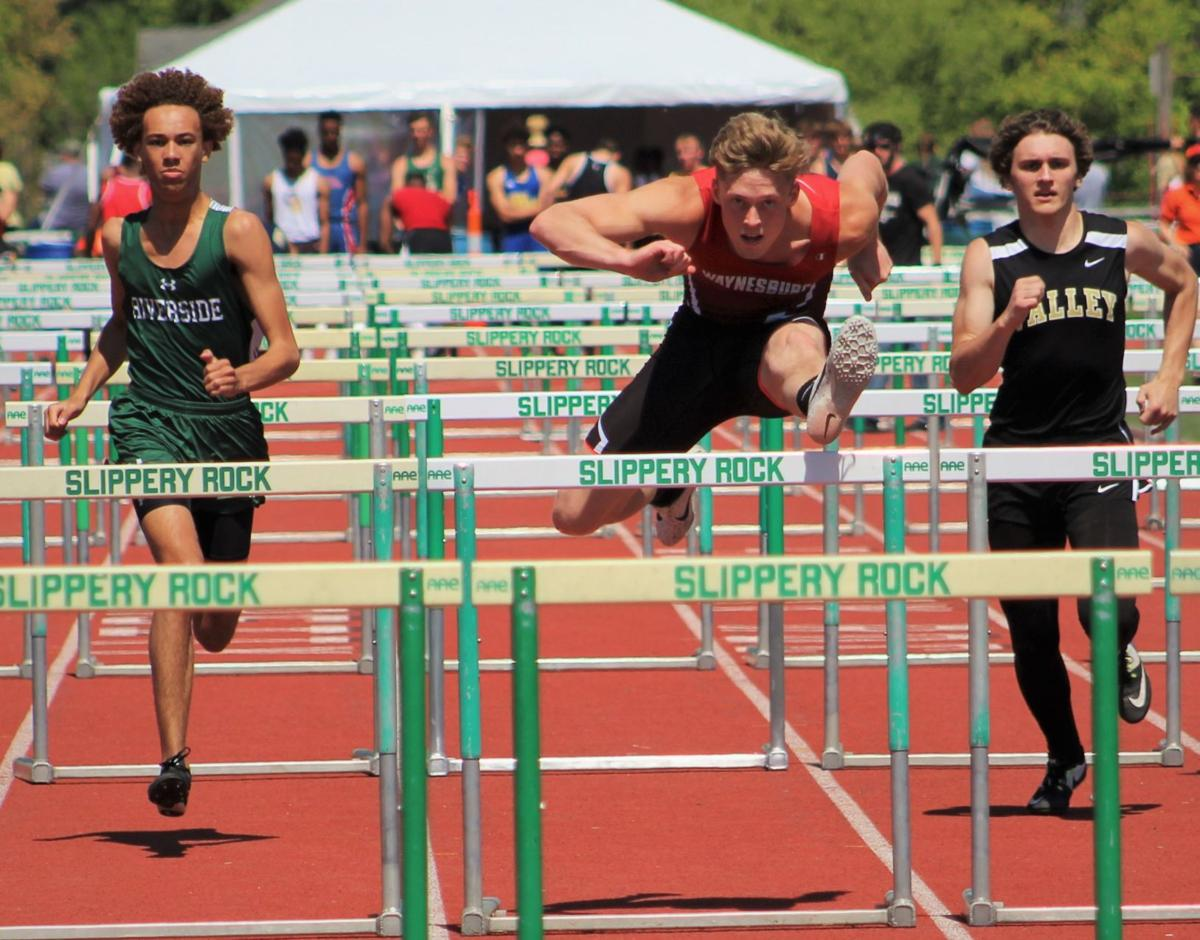Layton shares top track honors