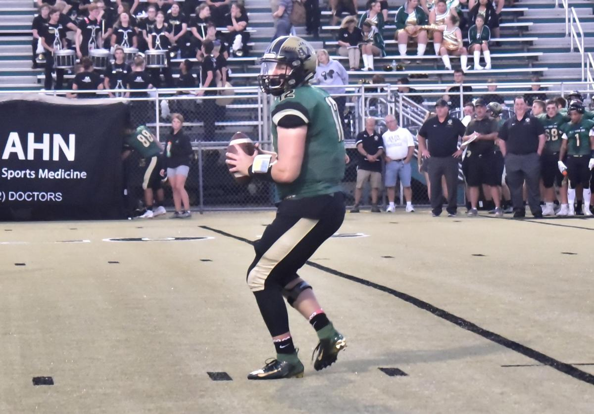 Leopards QB Hartman throws for 4 TDs in Belle Vernon's 63-13 win